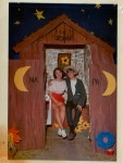 Barb Goodland and I party-hardy at Sadie Hawkins - 1968 (I look like I'm about 12!)