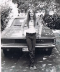 the summer after graduation...I was a paradox: a hippie with a 68 Dodge Charger 440! Friday nights, I raced that bad boy